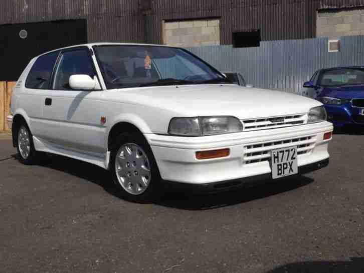 Toyota 1990 COROLLA GT i 16 TWIN CAM WHITE QUICK SALE NO ...