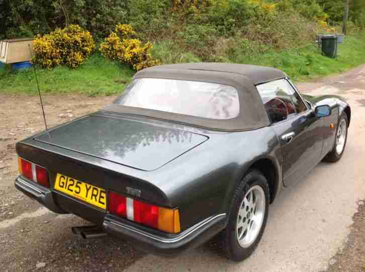 1990 TVR S2 290 SPORTS CONVERTIBLE GENUINE 83k