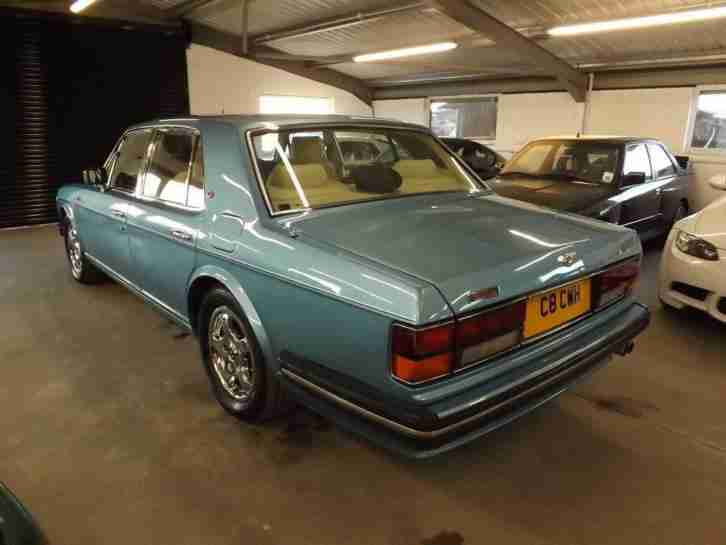 1991 BENTLEY TURBO R FUEL INJECTION 4DR