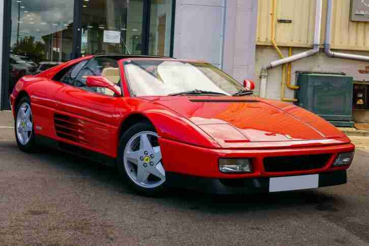 Ferrari 348. Ferrari car from United Kingdom