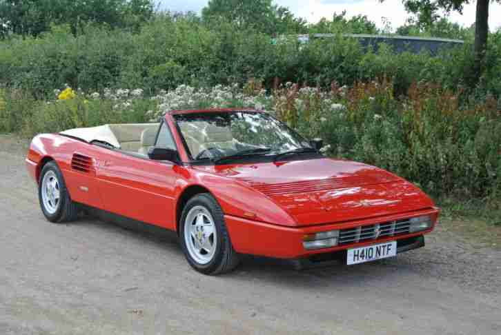 ferrari 1991 mondial t cabriolet car for sale. Black Bedroom Furniture Sets. Home Design Ideas