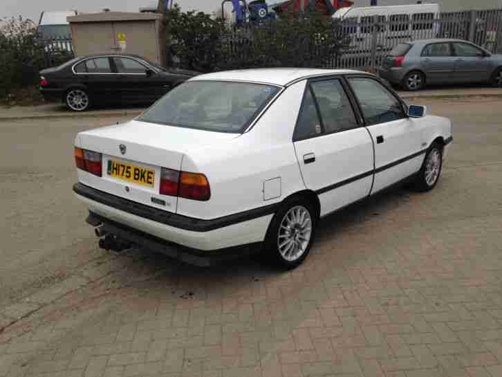1991 LANCIA DEDRA SE IE WHITE SPARES OR REPAIRS BARN FIND RESTORATION PROJECT