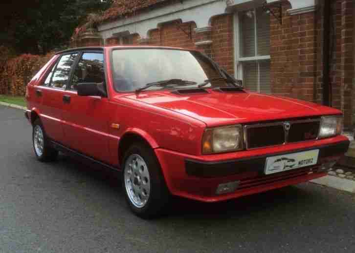 1991 DELTA HF TURBO IE RED VERY RARE