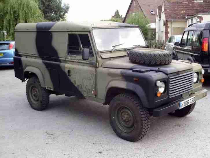 1991 Land Rover Defender 110 Ex Army Ffr Car For Sale