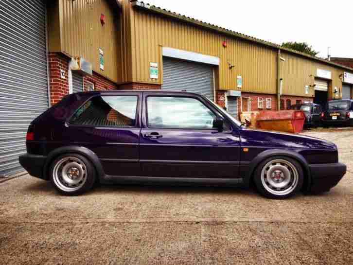 2018 Purple Cars >> Volkswagen 1991 LHD GOLF GTI MK2 G60, SUPERCHARGED RARE FIRE AND ICE