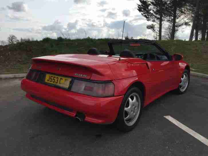 1991 LOTUS ELAN SE TURBO RED - ONLY 57000 MILES FROM NEW!!!