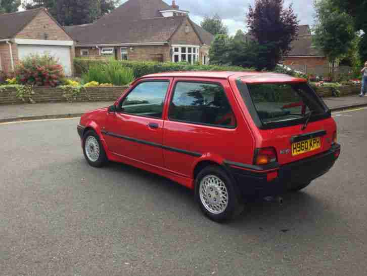 Rover 1991 Metro Gti Red Mg Car For Sale