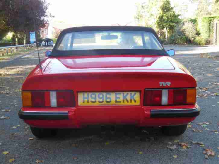 1991 TVR 290 S S3, 55,000 Miles, Full Service History