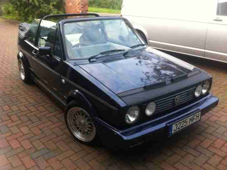 volkswagen 1991 mk1 golf gti rivage blue convertible cabriolet cabrio. Black Bedroom Furniture Sets. Home Design Ideas