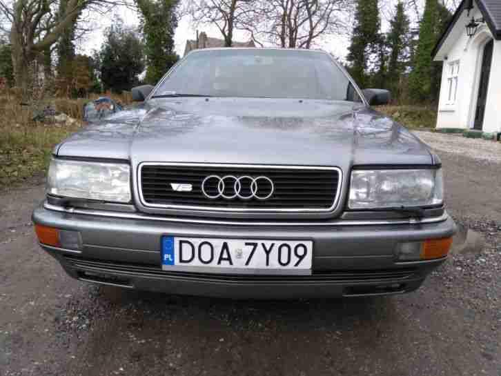 Audi V QUATTRO AUTO D C LHD LEFT HAND DRIVE EXPORT - Audi v8
