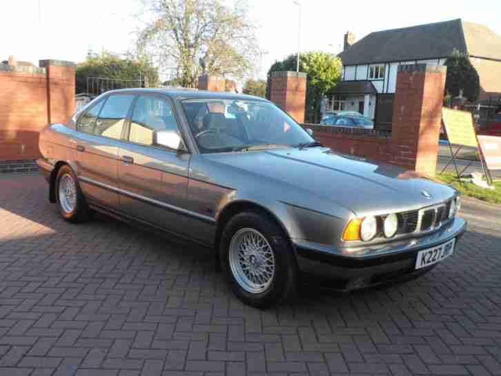 1992 BMW 520I SE,Only 52,000 Warranted Low Miles,Full BMW Service History!