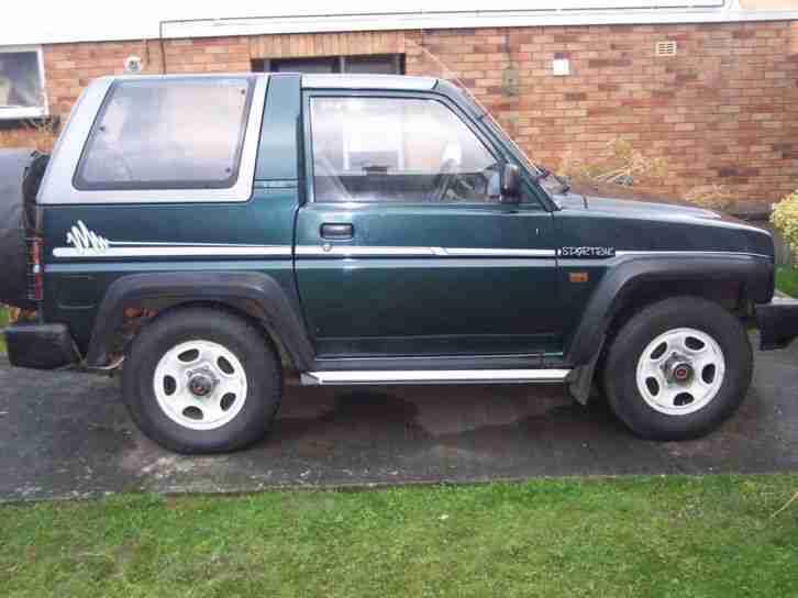 Daihatsu 1992 Sportrak Elx I Green Low Milage Car For Sale border=