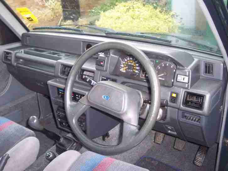 1992 DAIHATSU SPORTRAK ELX I GREEN -- low milage