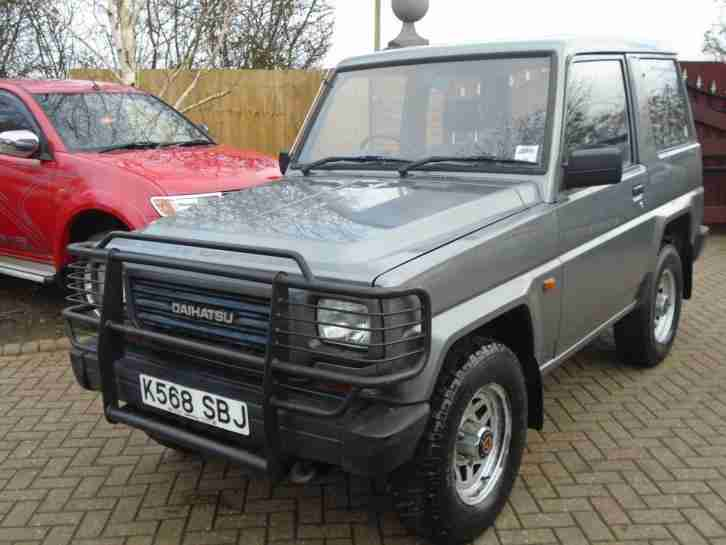 1992 Fourtrak 2.8D DS 1 OWNER (