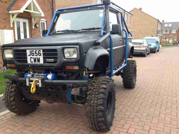 1992 LAND ROVER DISCOVERY FOURTRACK HYBRID OFF ROAD MONSTER TRUCK 200TDI MOT
