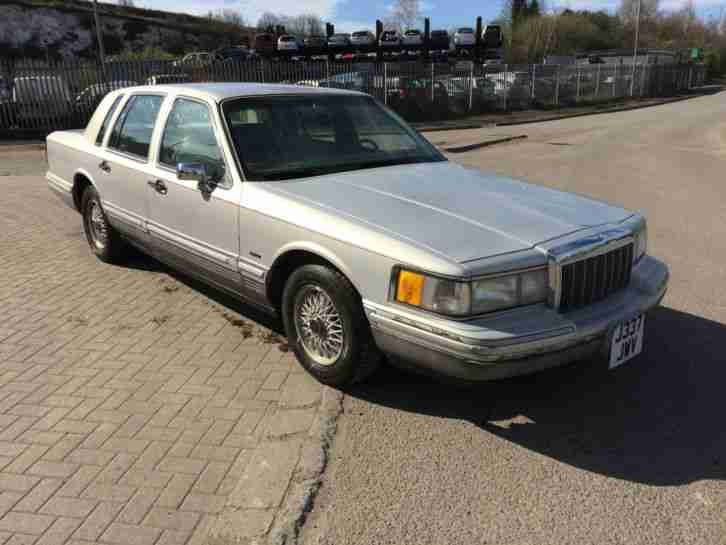 1992 LINCOLN TOWNCAR 4.6 V8 LHD BARN FIND