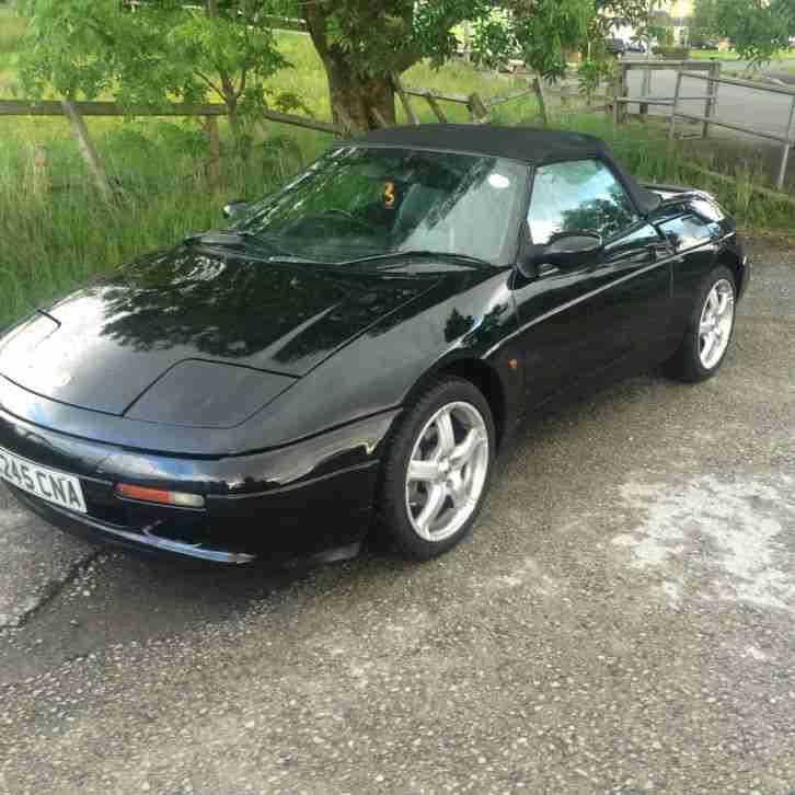 Lotus 1992 ELAN SE TURBO BLACK. Car For Sale