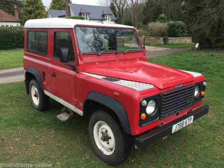 1992 Land Rover Defender 90 200TDi 7