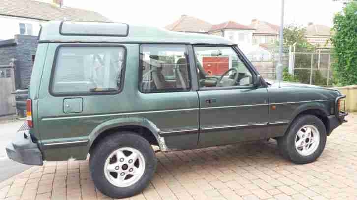 1992 Land Rover Discovery 3 Door 200tdi Rare Barn Find
