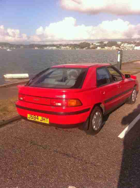 1992 MAZDA 323 GLXI ABS RED