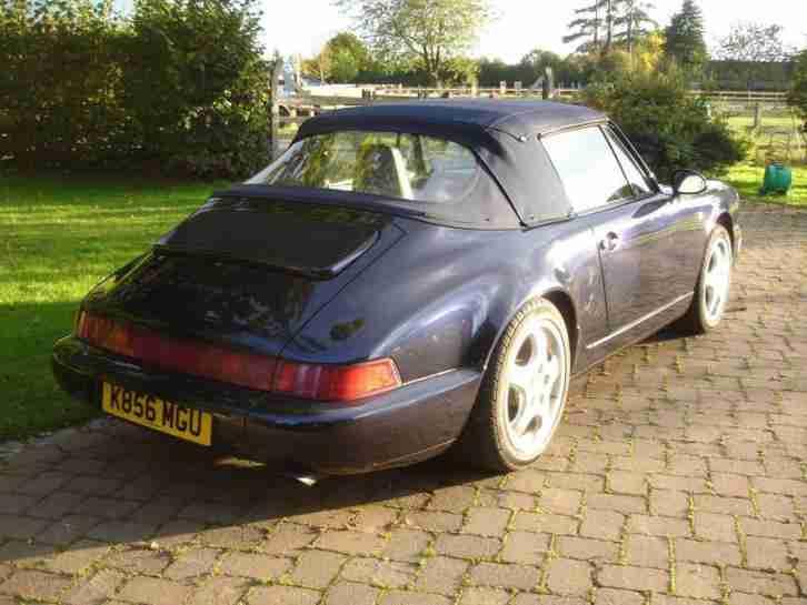 porsche 1992 911 911 carrera 4 cabrio 2 door convertible car for sale. Black Bedroom Furniture Sets. Home Design Ideas
