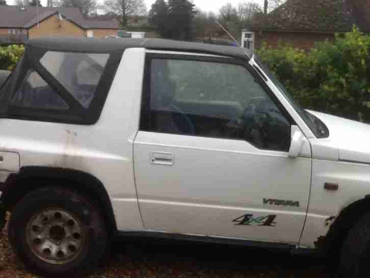 1992 Suzuki Vitara CONVERTIBLE SPARES OR REPAIRS