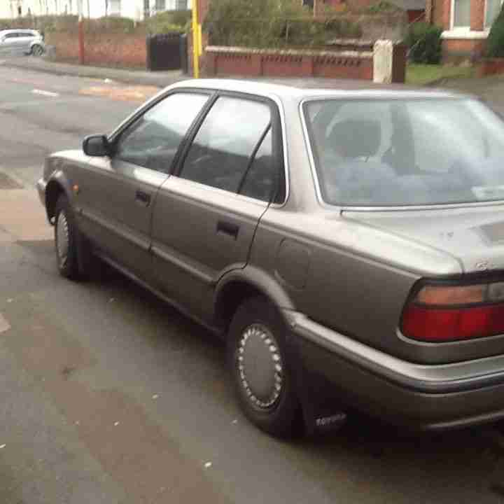 1992 Toyota Corolla Transmission: Toyota 1992 COROLLA GL GREEN. Car For Sale