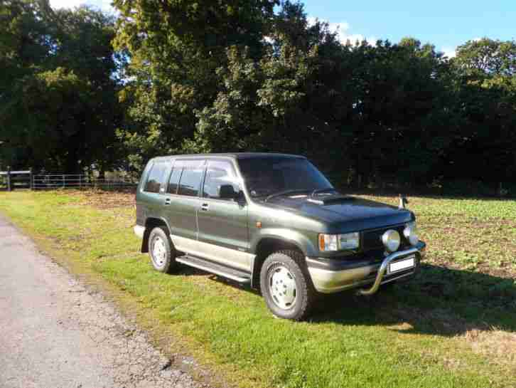 1993 ISUZU TROOPER 3.1TD BIGHORN LOTUS HANDLING PACK LWB GREEN OVER SILVER