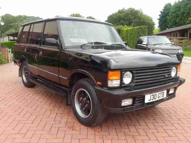1993 Land Rover Rangerover 4 2 Lse V8 Auto Black Long
