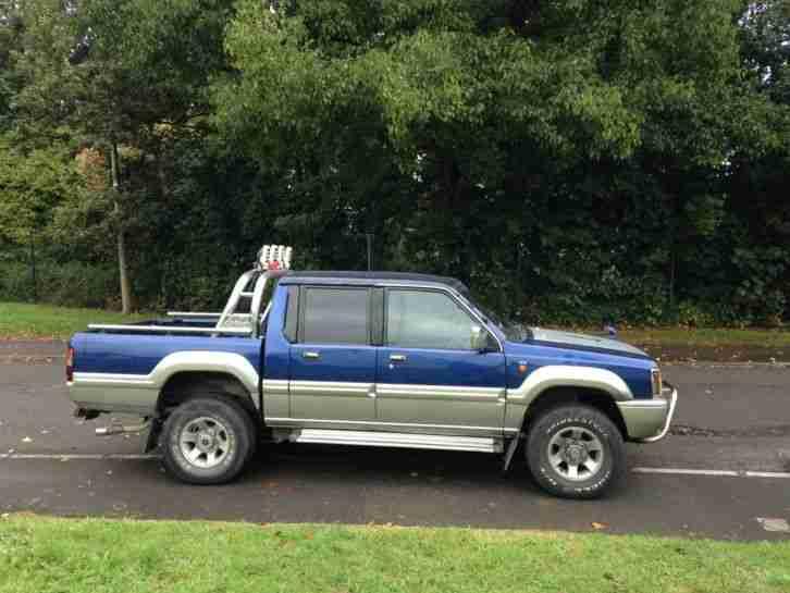 Mitsubishi 1993 L200 12 months MOT. car for sale