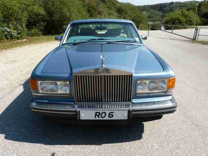 1993 ROLLS ROYCE SILVER SPIRIT II - ACTIVE RIDE - FUEL INJECTION