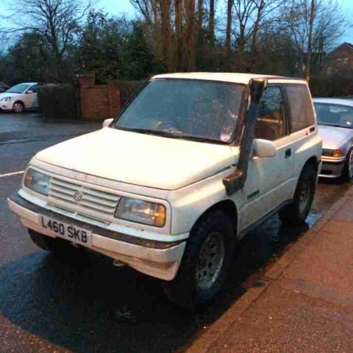 1993 VITARA JLX WHITE 1.6 16v off road