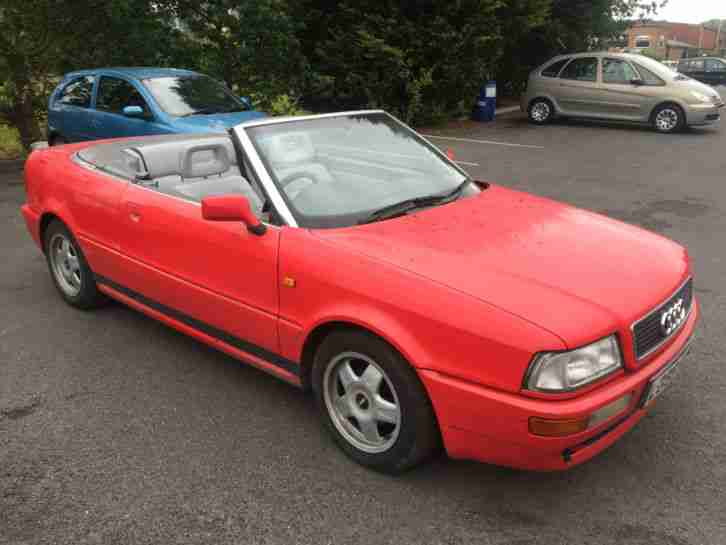 1994 CABRIOLET RED SPARES OR REPAIRS