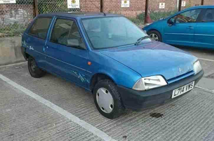 Citroen 1994 Ax 1 0i Salsa Spares Or Repair  Car For Sale