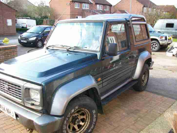 1994 FOURTRAK INDEPENDENT TDX GREEN