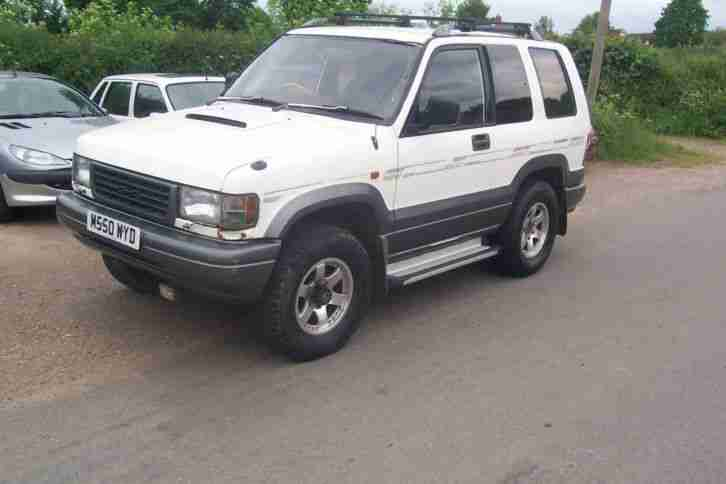 1994 ISUZU BIGHORN WHITE MANUAL