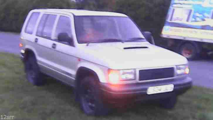 1994 ISUZU TROOPER LWB TURBO D SILVER 139k ish ser/his 14 stamp isuzu 100k