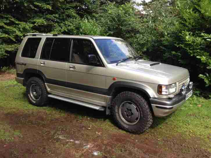 1994 Isuzu Trooper Bighorn 3.1 Intercooler - 109,000 miles - MOT Feb 15.
