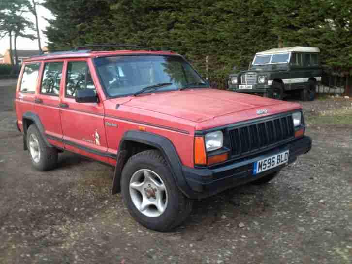 jeep 1994 cherokee 2 5 manual sport spares repair swap car for sale. Black Bedroom Furniture Sets. Home Design Ideas