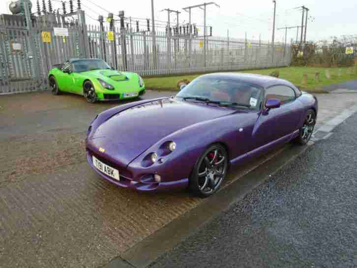 Tvr 1994 L Griffith 500 Sports Convertible Monza Red Car For Sale