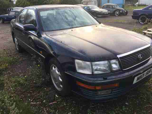 1994 LS400 BLUE SPARES OR REPAIRS