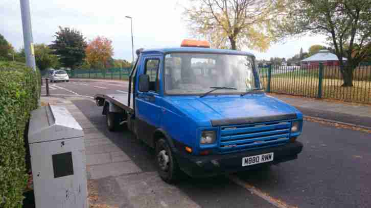 1994 Layland daf 400 2.5 non turbo diesel recovery truck beavertail