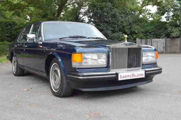 1994 M Rolls Royce Silver Spirit MK III in Royal Blue