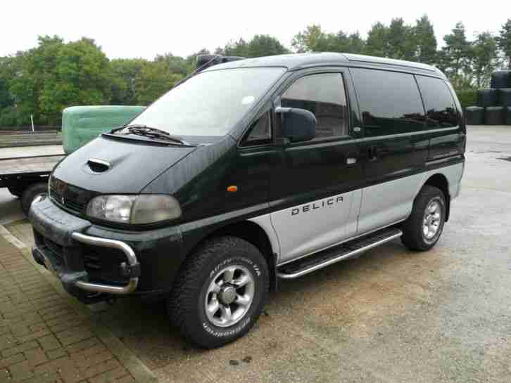 mitsubishi 1994 delica spacegear 2 8 4x4 in black car for sale. Black Bedroom Furniture Sets. Home Design Ideas