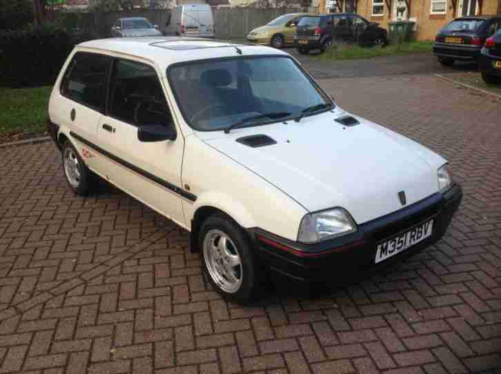 Rover 1994 Metro Gta White Car For Sale