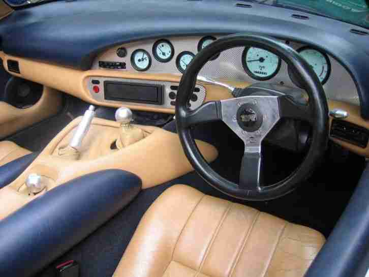 1994 TVR CHIMAERA 400. STARMIST BLUE. BISCUIT LEATHER. MOT. TVR NUMBER PLATE.
