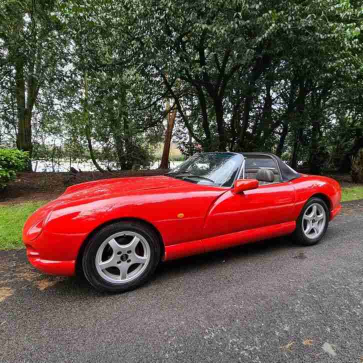 1994 TVR Chimaera 400 V8 Convertible Red