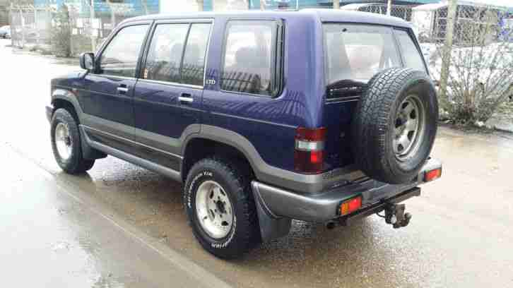 1994 VAUXHALL MONTEREY LTD, 3.1 TD BLUE, SAME AS ISUZU TROOPER, 4X4, TOW BAR