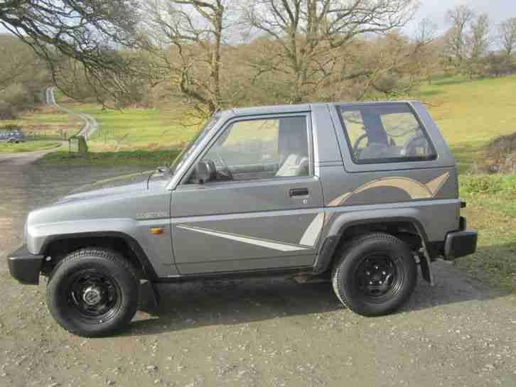 Daihatsu 1995 Sportrak 1 6 Exi No Reserve Car For Sale border=