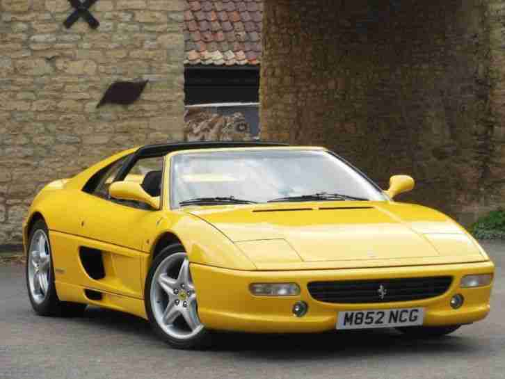 Ferrari F355. Ferrari car from United Kingdom
